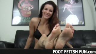 Femdom Foot Fetish And POV Feet Worshiping Videos