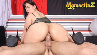 HerBigAss - Rita Defortuna Big Booty Latina Colombiana Intense Close Up Anal Sex - MAMACITAZ