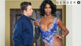 GenderX - Ebony TS Goddess Natassia Dreams Gets What She Wants