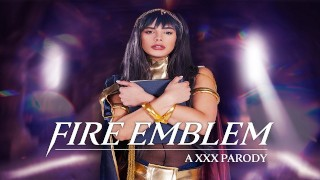 Big Tits Babe Starr As Tharja Cares About Your Dick In FIRE EMBLEM A XXX Parody