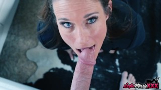 Fit MILF Sofie Marie Takes Cock After Pussy Play With Dildo