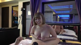 chubby cute college girl③Massive Creampie. Super Boobs Fucking. Goddess Cowgirl.