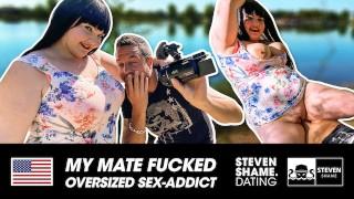 Fat beauty Samantha Kiss gets some man meat! STEVEN SHAME DATING