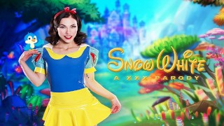 Natural Babe Diana Grace As SNOW WHITE Is All Wet For Her Prince Charming
