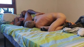 Feet. Rimming. A black dude with a stiff cock is going to fuck a italian boy(Parte 1)