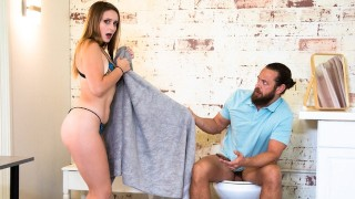 OutOfTheFamily Laney Grey Can't Take Her Stepbrother Big Cock