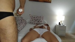 Masked man walks into my room and sticks his cock in me