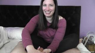 CUMSLUT WIFE NEXT DOOR TELLS HUBBY THE DETAILS OF HER TINDER DATE!