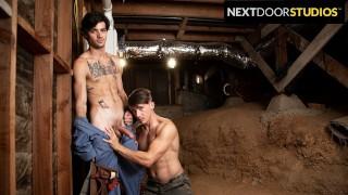 Married Handy Man Explores His Gay Fantasies - NextDoorStudios