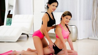 21Sextury Double Fingering Training Session Between Gina Gerson & Sasha Rose