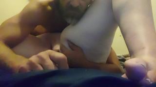 suck and fuck pregnant milf rides again