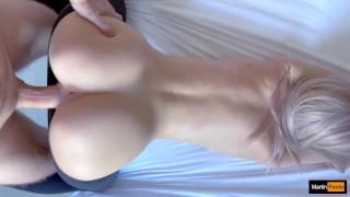 Black tights! Slut Step Sister! Deep penetration! Doggystyle! Slim blonde in pantyhose! Martinpaola!