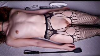 My Wife Loves To Get An Orgasm From Electro, Spanking And A Vibrator In A Wet Pussy