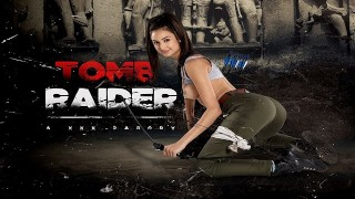 Busty Latina Eliza Ibarra As LARA CROFT Is All Yours In TOMB RAIDER A XXX VR Porn Parody