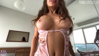 Lingerie model seduced me and we fucked by mutual agreement