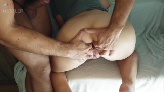Anal fisting first try