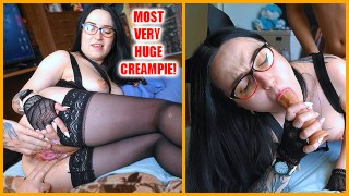 Check, if you can cum as profusely and huge as my fucker cum inside me - 3WetHoles