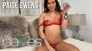 Babes - Kinky Euro GF Paige Owens Cuffs Her BF And Sucks big cock