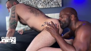 Cutler X Raw Breeds and Fucks Julien Torres with his Uncut Monster Cock