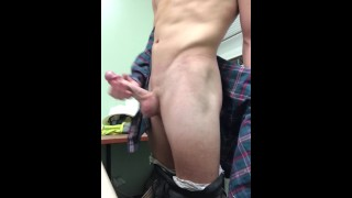 Sneaky office masturbation makes it hard for me to cum!