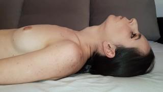 Amazing deepthroat with throatpie