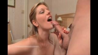 Legend MILF Pornstar HOLLY KISS Blows the winner