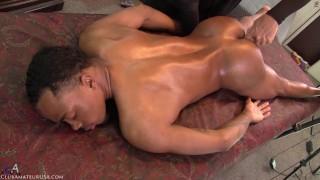 MandingoMar sexperiences his first direct prostate stimulation