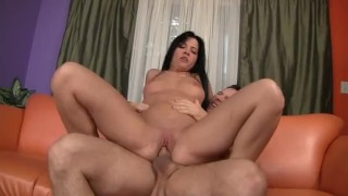 Rebeca Linares Hot Brunette Takes a Dick Like a Champ