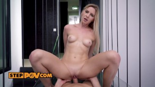 Attention whore Amber services stepdaddys cock