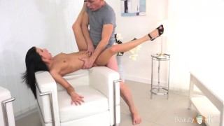 TeenMegaWorld - Nicole Black - Hot Babe with strong cameraman