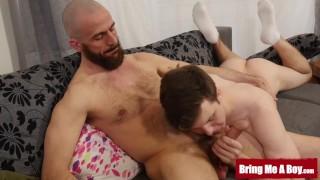BRINGMEABOY Daddy Eric Lenn Barebacks Stepson Josh Cavalin