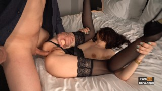 Sexy Secretary Teasing Her Boss Until He Fucks Her In The Ass 4K
