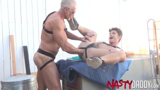 NASTYDADDY Submissive Devin Franco Fisted By Dallas Steele