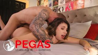 Pegas Productions - Brunette Adore se faire Fourré le Cul