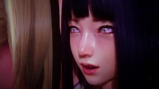 Naruto Futa - Hyuuga Hinata and Yamanaka Ino's passionate sex