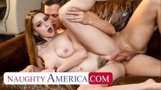 Naughty America - Laney Grey fucks her friend's man while husband shops
