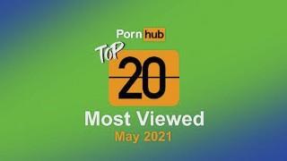 Most Viewed Videos of May 2021 - Pornhub Model Program