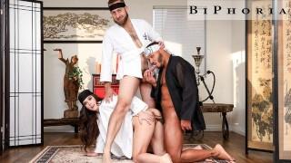 BiPhoria - Dillon Diaz Trains Married Couple In Cobra Bi