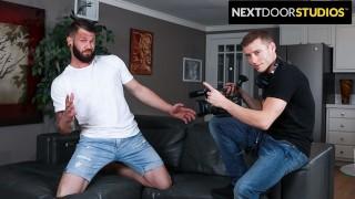 Playful Casting Director Flip Fucks Hot Stud - NextDoorStudios