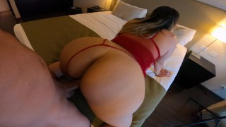 My Stepmom Knew I Was Recording Her Changing Her Clothes. So I Fuck Her