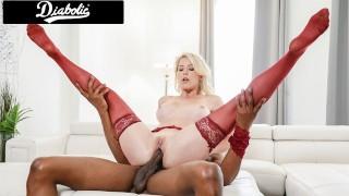 Big Tittied Blonde Milf Fucked Fast By A BBC - Diabolic