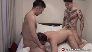 YOSHIKAWASAKIXXX - Japanese Yoshi Kawasaki Raw Breeds 3some