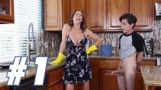 BANGBROS - The Juan El Caballo Loco Stepmom Compilation: Part One