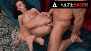 FootsieBabes Pounding Mary Frost's Pussy After A Sexy Reverse-Footjob