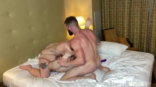 Gia Paige's First MMF Bisexual Threesome!