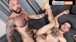 FamilyCreep - Sucking My Step Uncle Hunk Husband's Cock