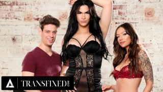 TRANSFIXED - Flirty Couple Wants To Repay Candice Kane With A Threesome