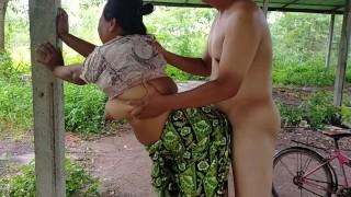 Big Tits Asian Outdoor 7