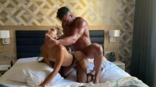 Spanish stud destroy Russian pussy