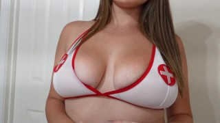 Fucking My Hot Nurse and Giving Her Messy Facial